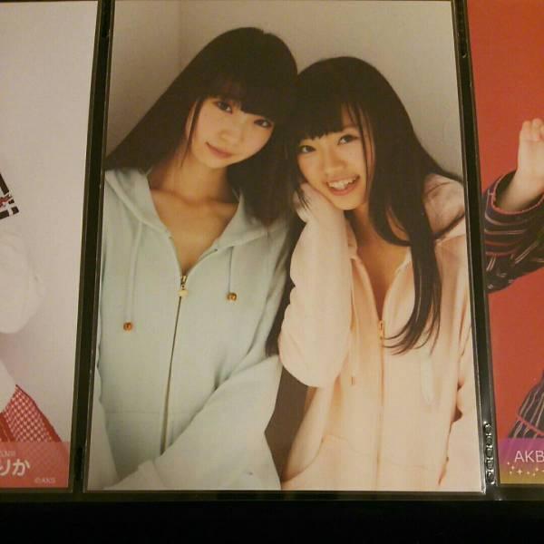 NGT48 中井りか 荻野由佳 UTB 生写真 ライブグッズの画像
