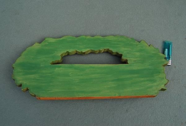 木製ハンガー 壁掛け 装飾画:薔薇 フック・ハート形_画像2