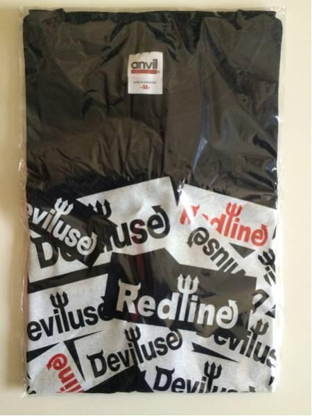 Deviluse Redline コラボTシャツ デビルユース レッドライン