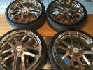 クレンツェ ホイール 軽自動車インチアップ用に 165/40R16 16×5.5J PCD100 オフセット45 4穴 4本セット