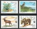 切手 イタリア 自然保護 WWF 魚 サンゴ イルカ 鳥 シカ クマ 4V完 1991年発行 未使用 B323