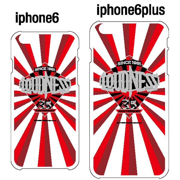 【新品】 LOUDNESS iPhone6 ケース 【WHT】 / (ラウドネス) 二井原実 高崎晃 山下昌良 鈴木政行