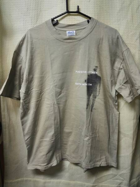 03  バンドTシャツ マッシブアタック XL