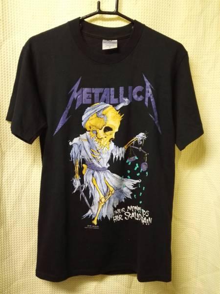 03バンドTシャツ メタリカ ジャスティス パスヘッド ヴィンテージ1989 M