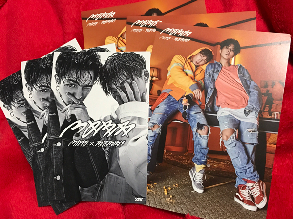 MOBB 会場購入特典ポストカード 3枚×2種類 セット 新品 MINO/WINNER BOBBY/iKON