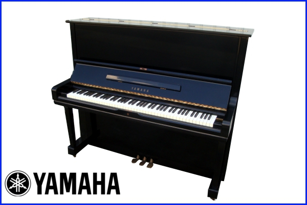希少 YAMAHA ヤマハ アップライトピアノ【U3G】三本ペダル1972年 昭和47年頃製造 88鍵盤_YAMAHAアップライトピアノ!!