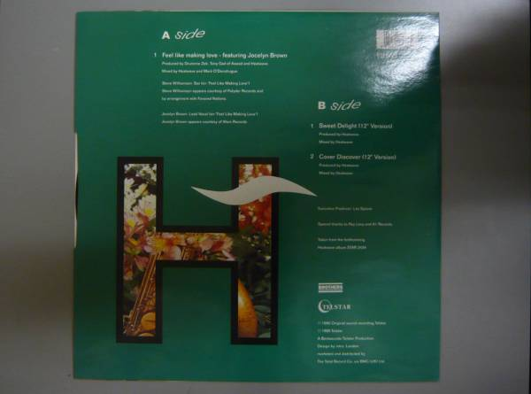 "『12""』HEATWAVE/FEEL LIKE MAKING LOVE/LP 5枚以上で送料無料/A_画像2"