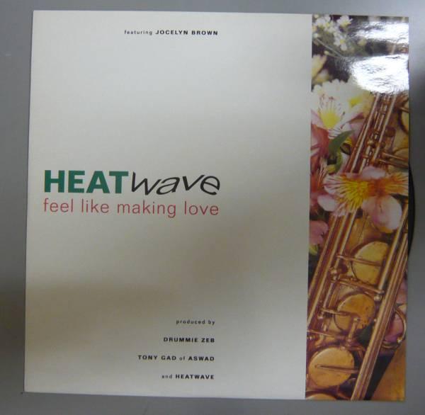 "『12""』HEATWAVE/FEEL LIKE MAKING LOVE/LP 5枚以上で送料無料/A_画像1"
