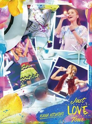 即決 西野カナ Just LOVE Tour 初回生産限定盤 (DVD) 新品未開封 ライブグッズの画像