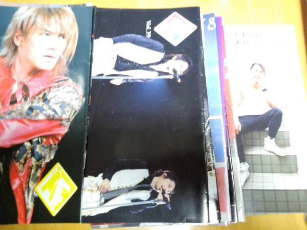 *タッキー&翼* FC会報 Vol.21~64 コンサートグッズの画像