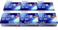 6倍速!SONY 一回録画 ブルーレイ 50GB(60〜120枚) BD-R DL ソニー 新品未開封 10BNR2VJPS6