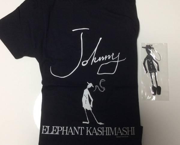 エレファントカシマシ・エレカシ Tシャツ Johnny ストラップ付