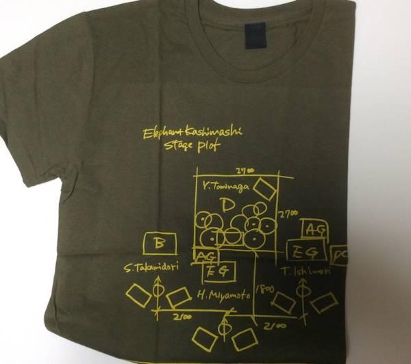 エレファントカシマシ・エレカシ Tシャツ 夏フェス2012