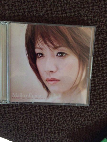 藤田麻衣子 BEST ALBUM 初回限定盤 サイン入り 帯なし