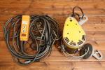 美品 リョービ RYOBI RYOBI ウィンチ WI-61C 工具 電動 リモコン付き kd000273