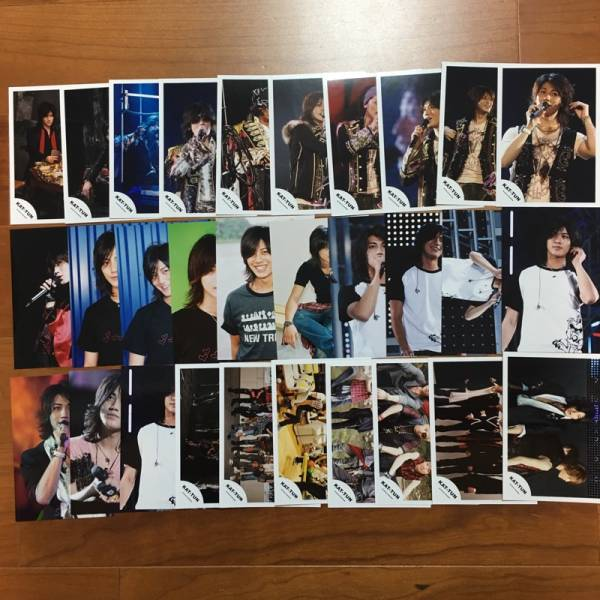 即決¥1000★KAT-TUN 公式写真 2351★赤西仁 まとめて 30枚セット