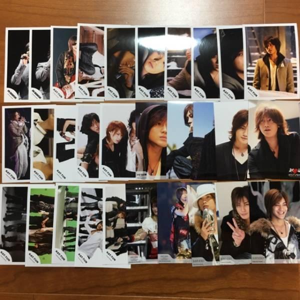 即決¥500★KAT-TUN 公式写真 2375★赤西仁 まとめて 30枚セット