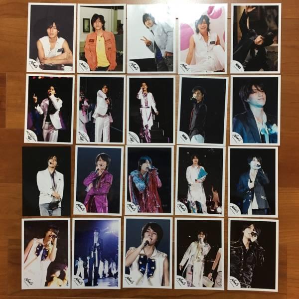 即決¥1000★関ジャニ∞ 公式写真 2397★錦戸亮 NEWSロゴ 20枚セット