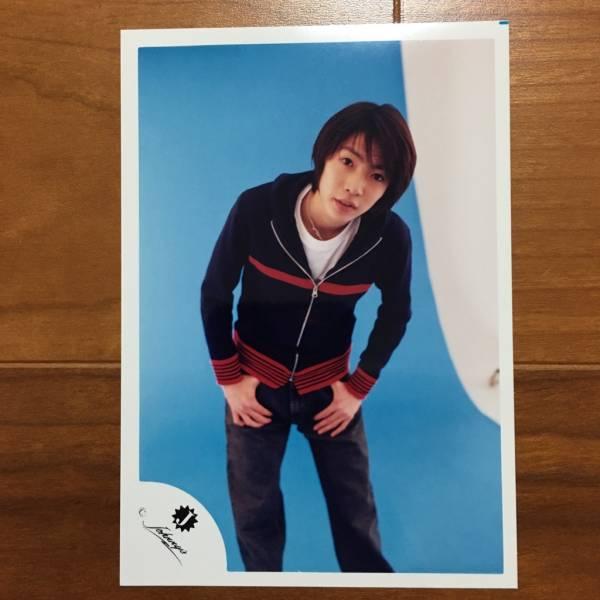 即決¥1500★嵐 公式写真 2413★相葉雅紀 可愛い 貴重 Jr.時代 Jロゴ