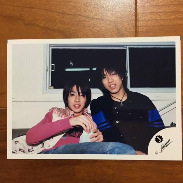 即決¥1500★嵐 公式写真 2429★相葉雅紀 村上信五 可愛い 貴重 Jr.時代 Jロゴ