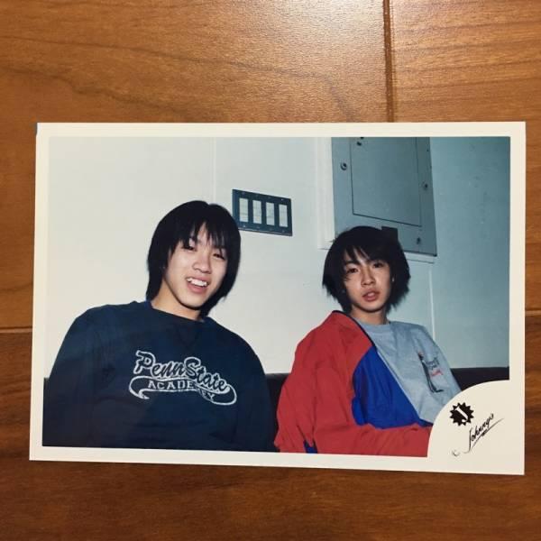 即決¥1000★嵐 公式写真 2430★相葉雅紀 村上信五 可愛い 貴重 Jr.時代 Jロゴ
