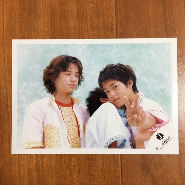 即決¥3000★嵐 公式写真 2482★錦戸亮 田中聖 貴重 Jロゴ