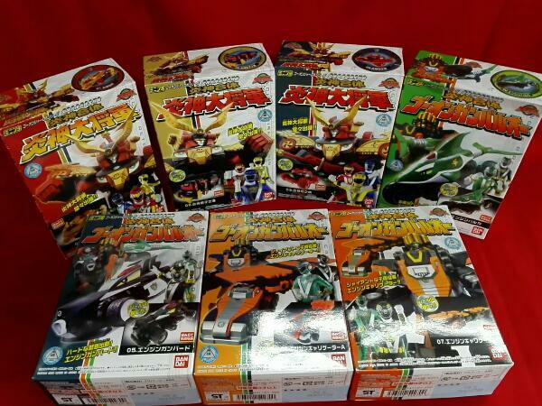ミニプラ 炎神戦隊ゴーオンジャー 全7種 コンプリートセット