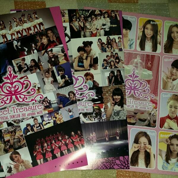 T-ara 会報 vol.1~3  フライヤー数枚 ライブグッズの画像