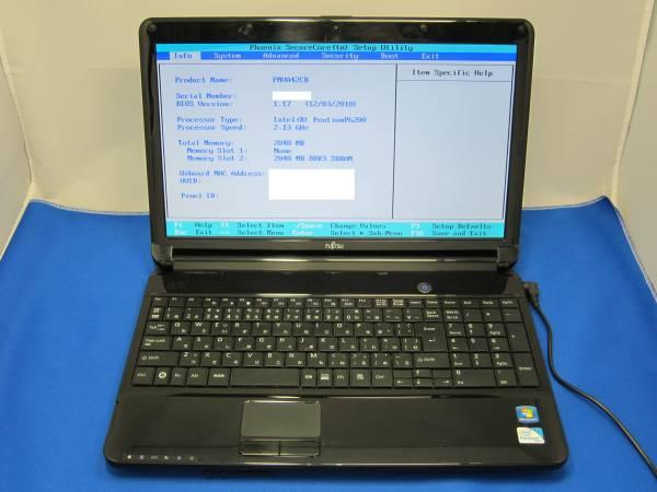 FUJITSU LIFEBOOK AH42/C Windows7 ノートパソコン ◆55