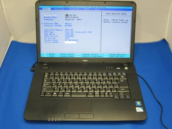 NEC VersaPro VA-C PC-VK23EAZCC Windows7 ノートパソコン  ◆57
