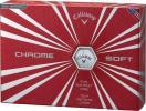キャロウェイ CHROM SOFT クロムソフト ボール 1ダース 新品未使用品
