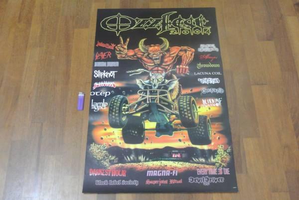 送料290円●新品 89cmポスター Ozzy オジーオズボーン metal ブラックサバス Black Sabbath メタル オズフェス d