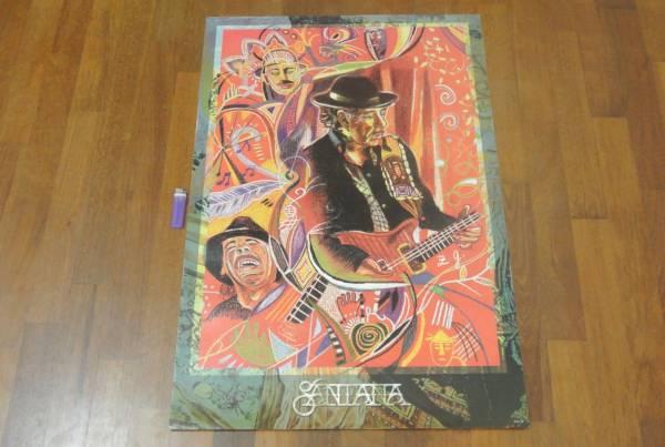 送料290円●新品 89cm ポスター サンタナ Santana ギター b