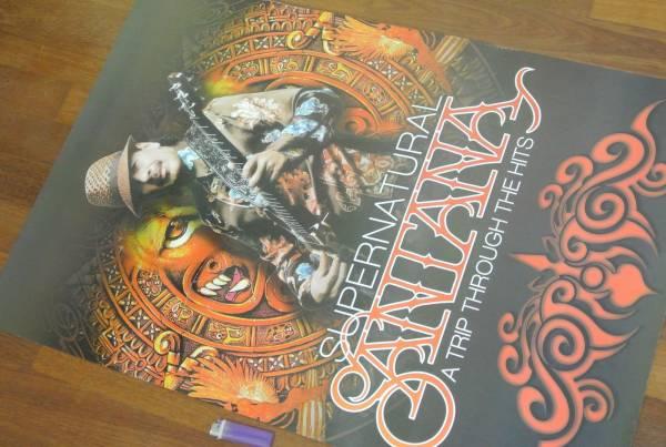 送料290円●新品 89cm ポスター サンタナ Santana ギター d