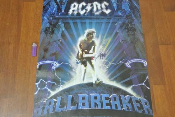 送料290円新品 89cm ポスター AC/DC エーシーディーシー マルコム アンガス ヤング ロック rock a