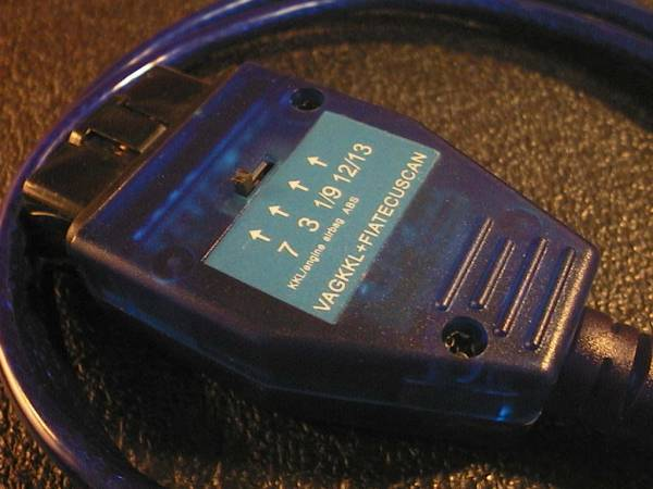 アルファロメオ フィアットがWindowsで簡単本格診断 multiecuscan専用KKL/VAG-COMケーブル(旧 FiatECUScan, alfadiag)変換ケーブル不要_動作確認済み