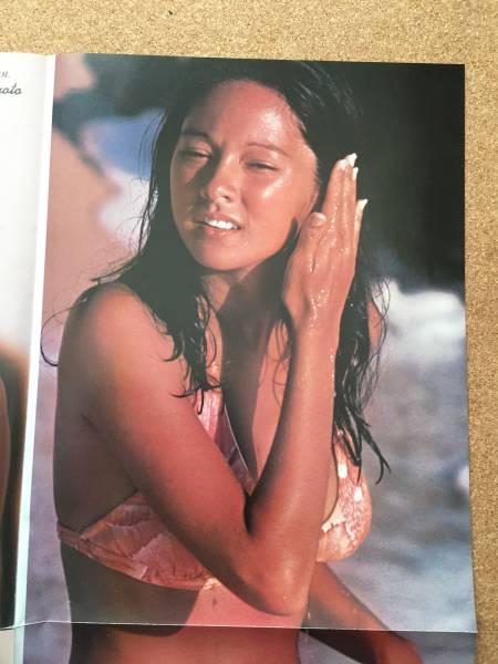 月刊付録ポスター アグネスラム、松本ちえ子
