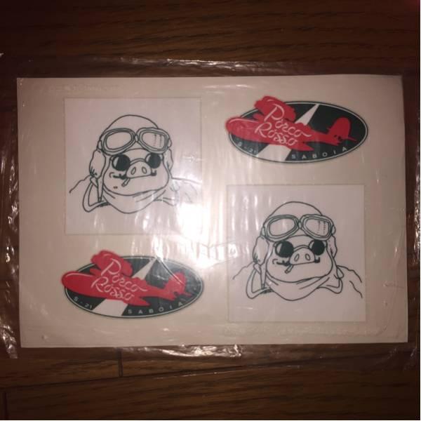 新品 紅の豚♪ジブリ映画 非売品ノベルティアイロンシールTシャツ★切手商品券可 グッズの画像