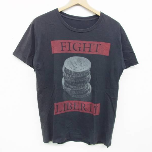 UVERWORLD ウーバーワールド Tシャツ 2013 FIGHT FOR LIBERTY ブラック