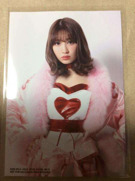 小嶋陽菜 生写真 シュートサイン 通常盤 AKB48 硬化ケース付き ライブ・総選挙グッズの画像