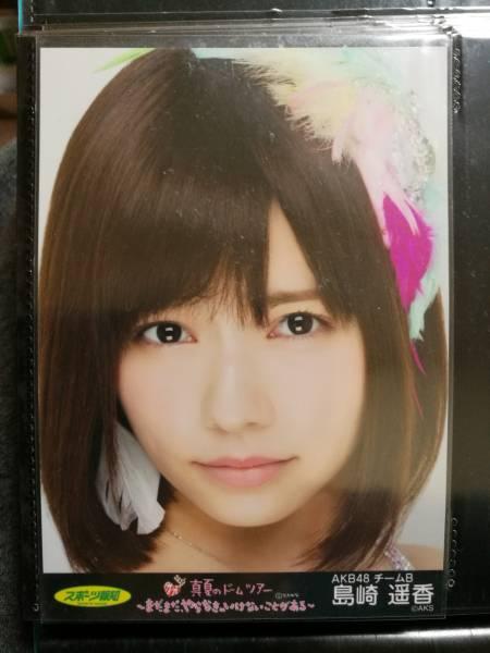 AKB48 生写真 真夏のドームツアー パンフレット特典 島崎遥香 ライブ・総選挙グッズの画像