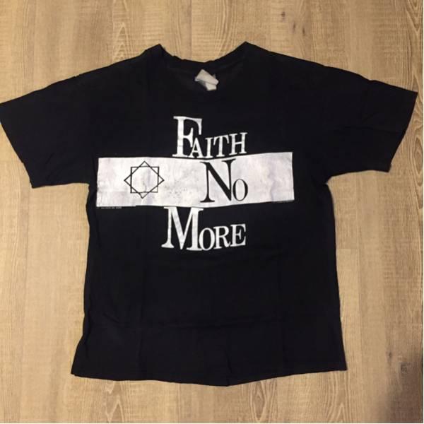 【当時物】1990 Faith No MORE Tour Tシャツ / DJ AM Vintage Tee ビンテージ GUNS N' ROSES ガンズ METALLICA メタリカ SLAYER NIRVANA ライブグッズの画像