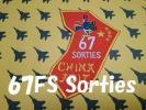 アメリカ空軍第67戦闘飛行隊F−15 防空識別圏威嚇飛行任務67回