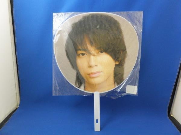 ◆ARASHI Anniversary Tour 5×10 松本潤 大きいうちわ 縦42cm 横29.5cm ms0315-9◆