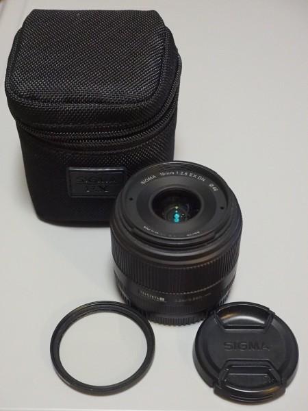 【美品】SIGMA 19mm F2.8 EX DN ソニーEマウント