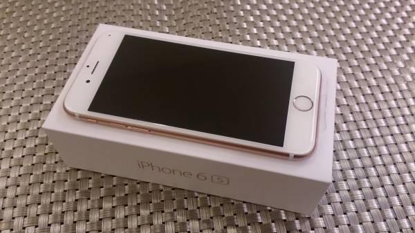 ☆ ほぼ新品未使用 ドコモ/DoCoMo iPhone6s 32gb ローズゴールド 送料無料 ☆_画像2