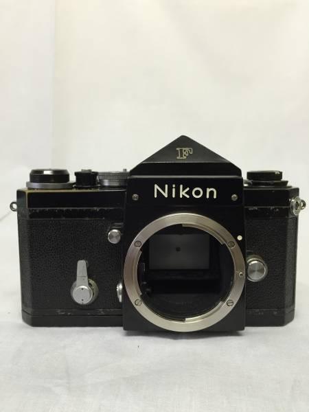 Nikon ニコン F アイレベル 黒ボディ 7230547番台 動作品 ジャンク品 (M-1)