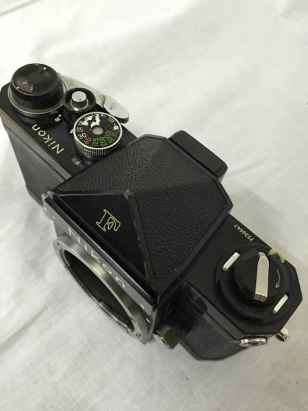 Nikon ニコン F アイレベル 黒ボディ 7230547番台 動作品 ジャンク品 (M-1)_画像3