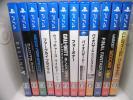 PS4 ソフト 計12本セット ブラックオプス3 フォーオナー バイオハザード ウィッチャー3 ファークライ 重複なし その? 条件付き送料無料