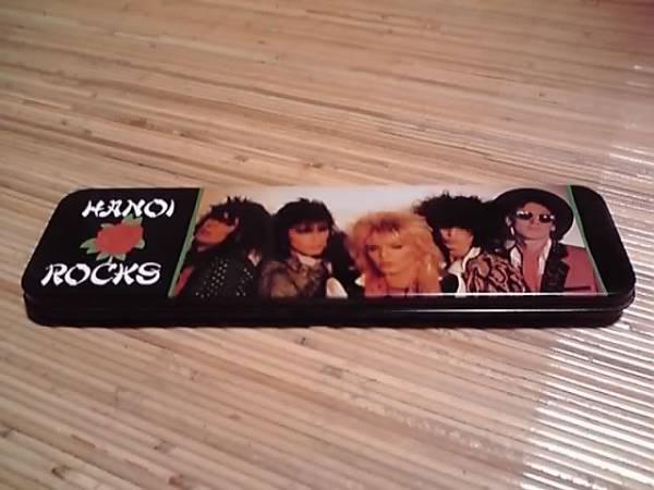 ハノイロックス / 缶ペンケース HANOI ROCKS 1984年製 マイケル・モンロー